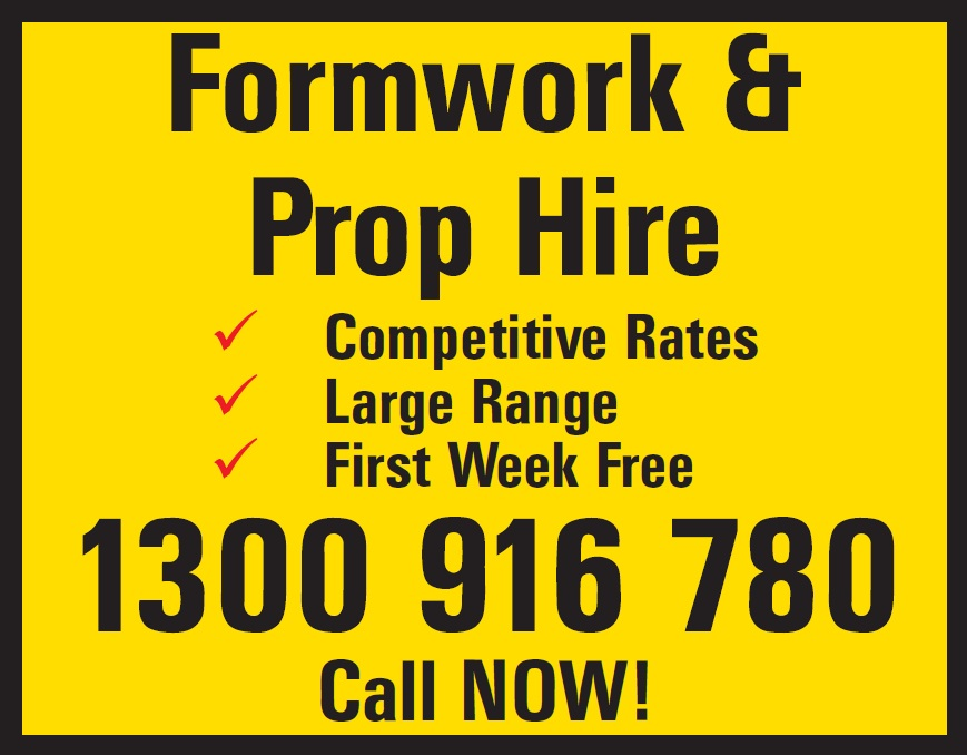 Acrow Props Call 1300 916 780 Now